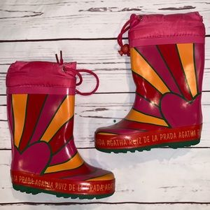 Agatha Ruiz de la Prada rain boots